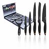 Set de cuchillos de 6 piezas con recubrimiento de mármol con pelador