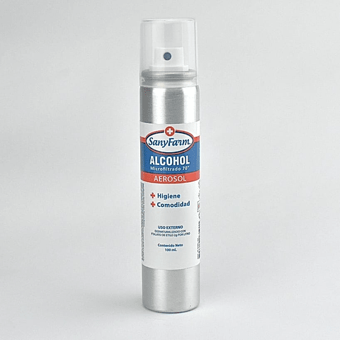 Alcohol aerosol microfiltrado 100 ml