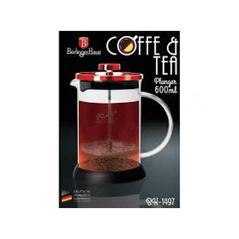 Cafetera de té y café 600 ml de acero inoxidable