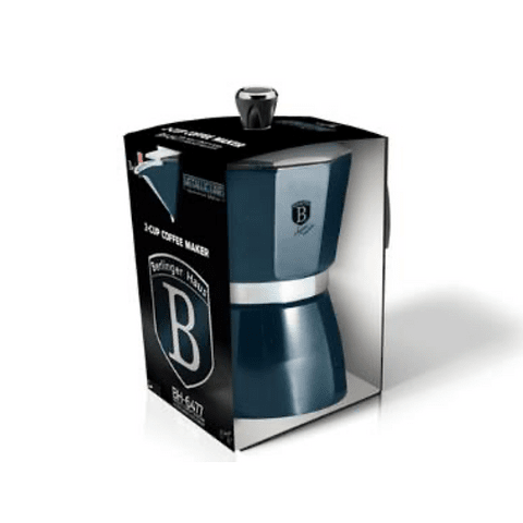 Cafetera con capacidad de 3 tazas