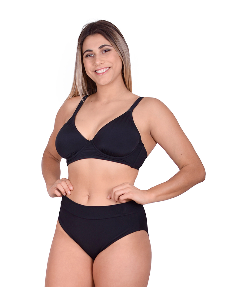 Sostén Bikini Capri Negro