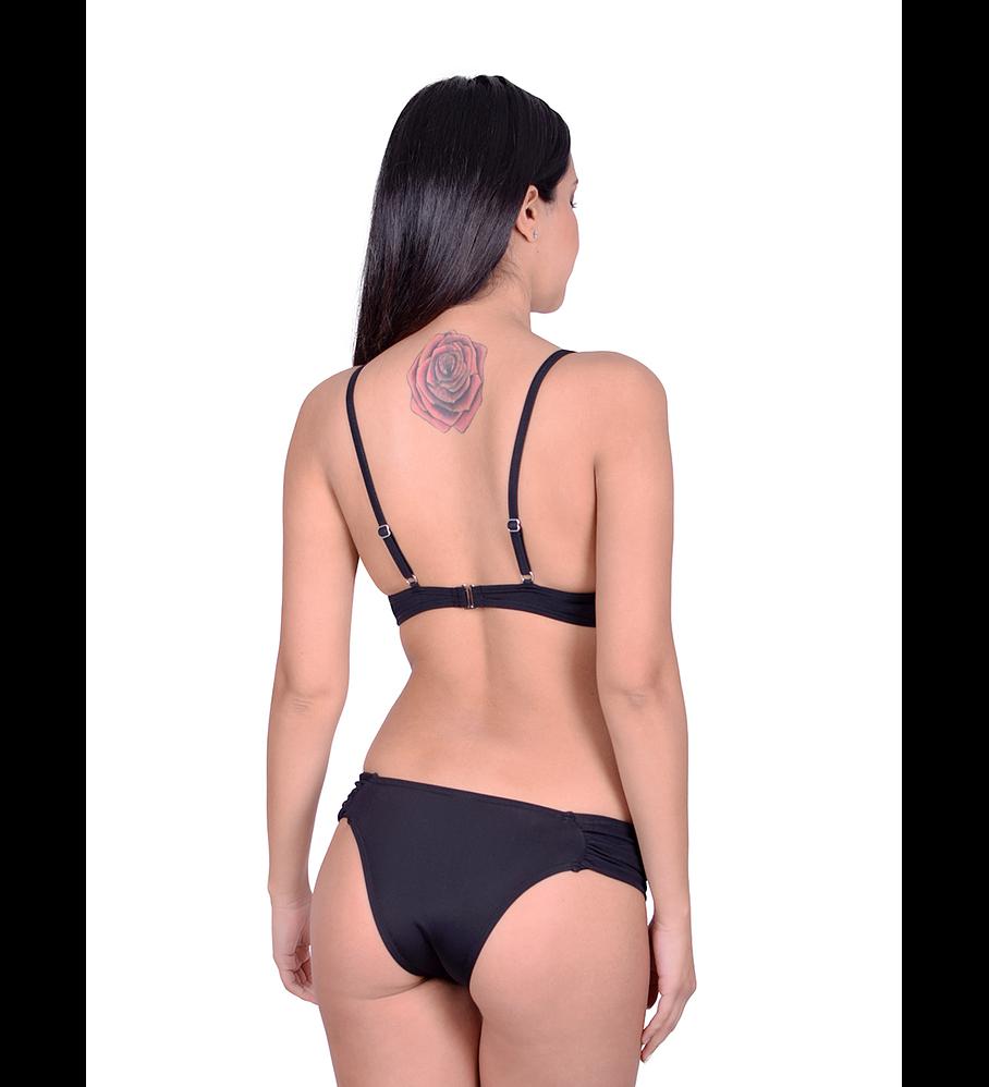 Calzón Bikini Mariposa Negro