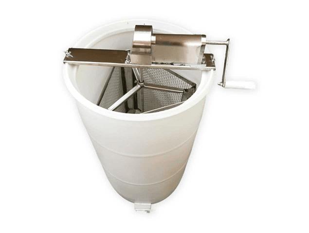 Centrifugadora - Herrajes de acero inoxidable Ref 304  Canela plástica