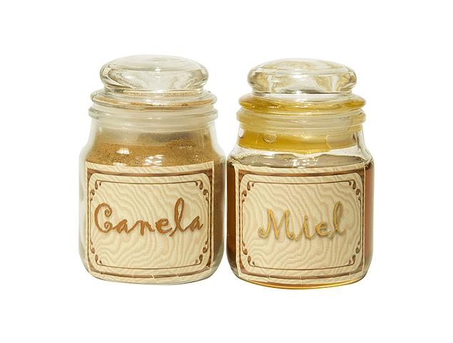 Miel de Abeja y Canela