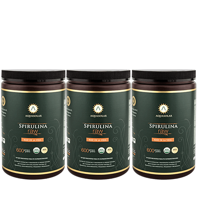 Plan Spirulina Raw
