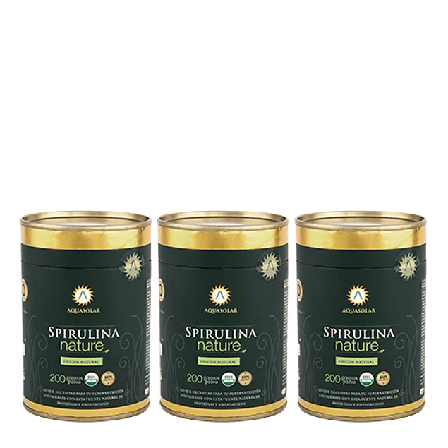 Plan Nature Spirulina