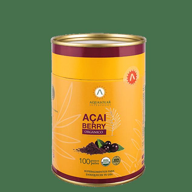 Açai Berry 100g polvo 100% Orgánico
