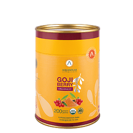Goji Berry 200 g polvo 100% Orgánico