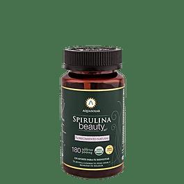 Spirulina Beauty 180 tabletas 100% Orgánicas