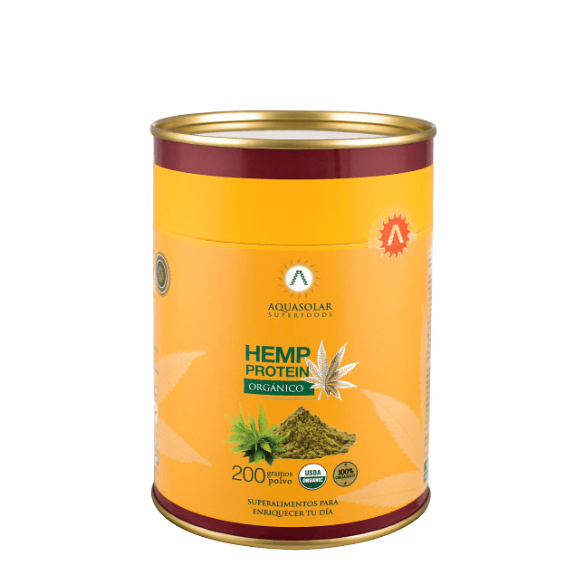 Hemp Protein 200g 100% Orgánico