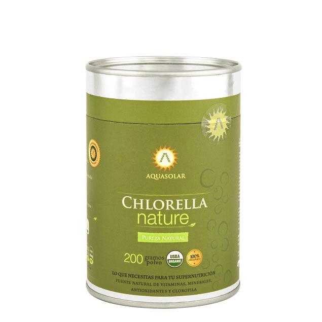 Chlorella Nature 200g 100% Orgánico
