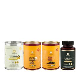 Pack Start Fit<br><sub>VeggiMilk B200-Cacao Nibs<br>Açai-Sport</sub>
