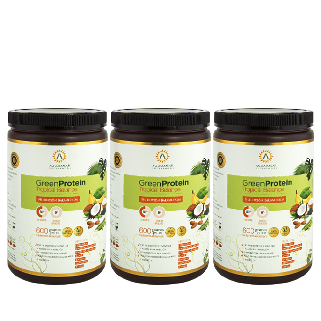 Plan GreenProtein Tropical Balance
