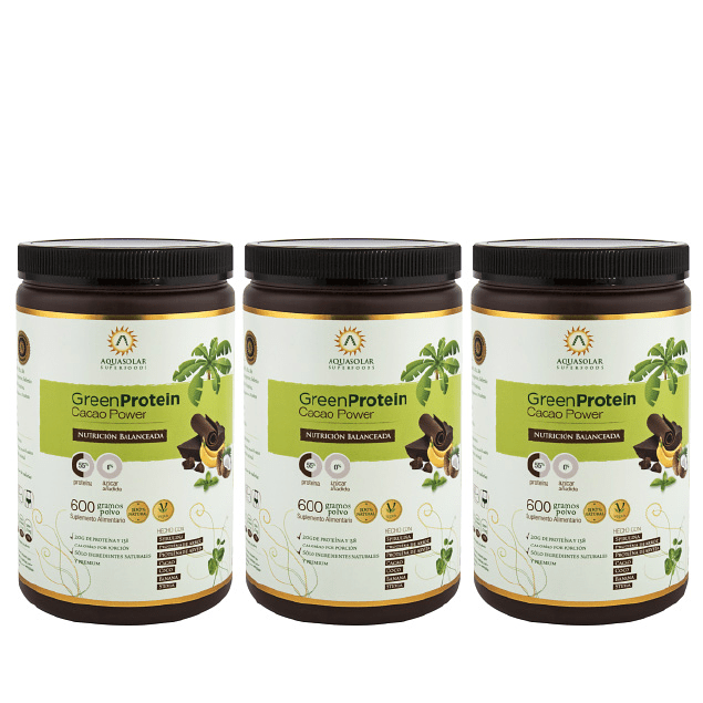 Plan GreenProtein Cacao Power