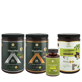 PACK PROTEIN POWER<br><sub>veggipro one-Cacao Power<br>C power-veggiPro choco 600</sub>