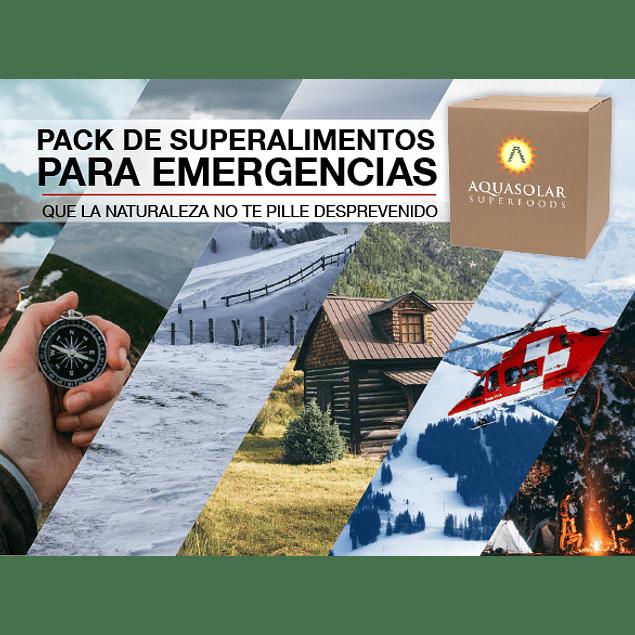 Pack de Superalimentos para Emergencia