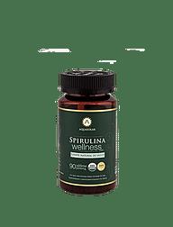 Spirulina Wellness 90 tabletas 100% Orgánicas
