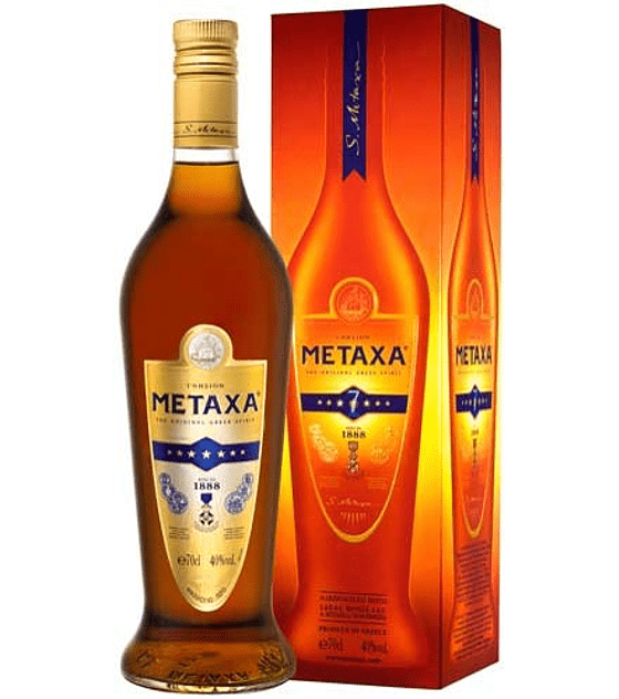 Brandy Metaxa 7 Stars 40º