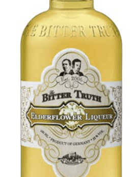 The Bitter Truth Elderflower Liqueur 22º