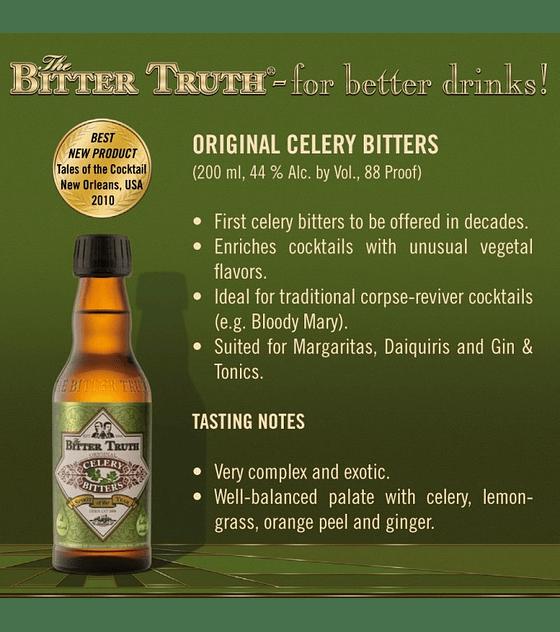 The Bitter Truth Original Celery Bitters 44º
