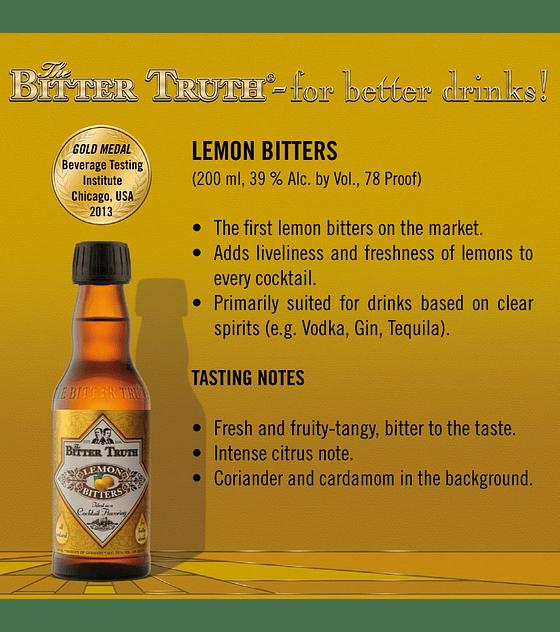 The Bitter Truth Lemon Bitters 39º