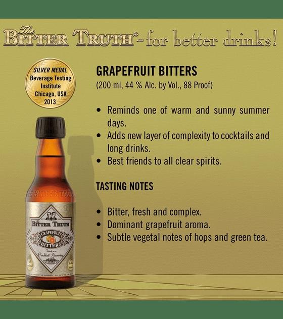 The Bitter Truth Grapefruit Bitters 44º