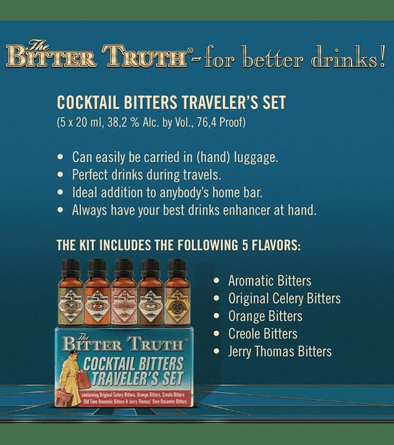 The Bitter Truth Traveller's Set