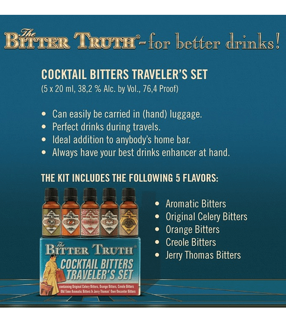 The Bitter Truth Traveller's Set