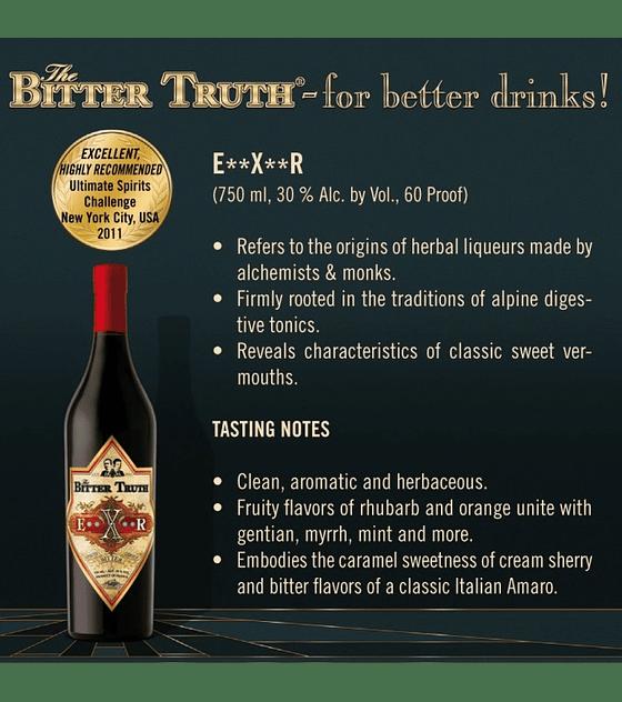 The Bitter Truth E**X**R 30º