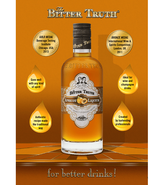 The Bitter Truth Apricot Liqueur 22º