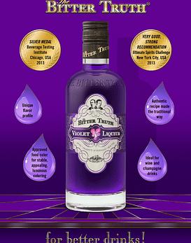 The Bitter Truth Violet Liqueur 22º