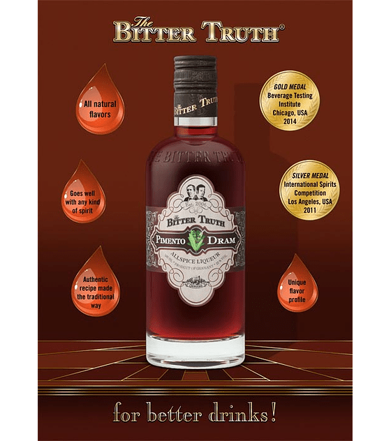 The Bitter Truth Pimento Dram 22º