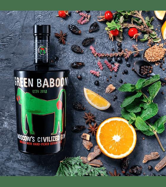 Green Baboon Gin 43°