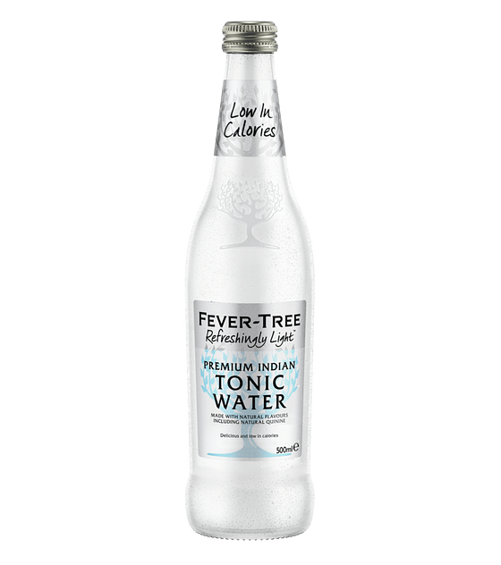 Fever Tree Indian Light Tonic 500cc (8 unidades)