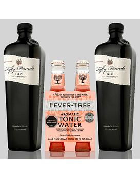 Día del Padre con Gin Fifty Pounds y Fever-Tree Aromatic