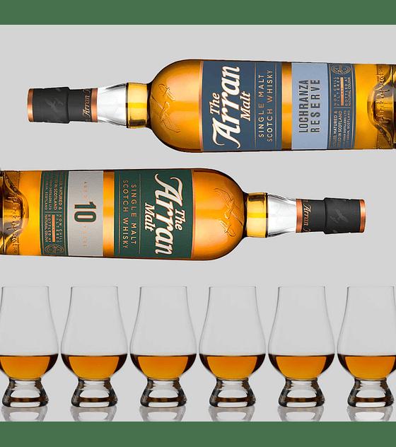 Día del Padre con Whisky Arran Single Malt & Glencairn Glass