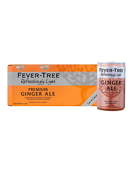 Fever-Tree Refreshingly Light Ginger Ale 150cc (24 unidades)
