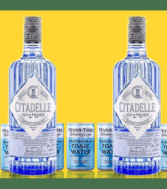Pack Gin Citadelle & Fever-Tree Refreshingly Light Mediterranean Tonic
