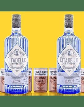 Pack Gin Citadelle & Fever-Tree Refreshingly Light Ginger Ale
