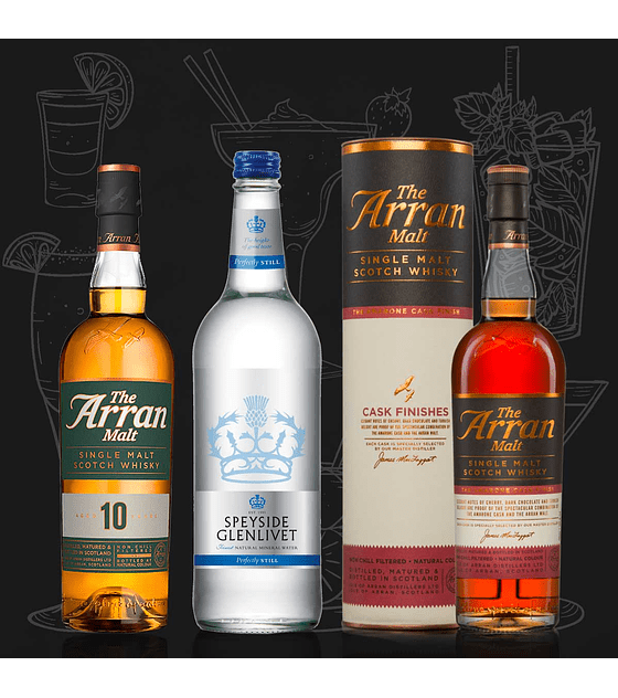 Pack The Arran Malt & Speyside Glenlivet