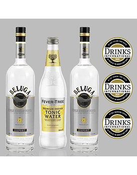 Pack Vodka Beluga y Fever-Tree Premium Indian
