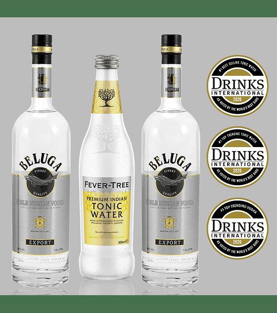 Pack Vodka Beluga y Fever-Tree Premium Indian