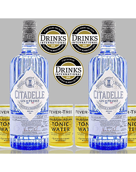 Pack Gin Citadelle y Fever-Tree Premium Indian