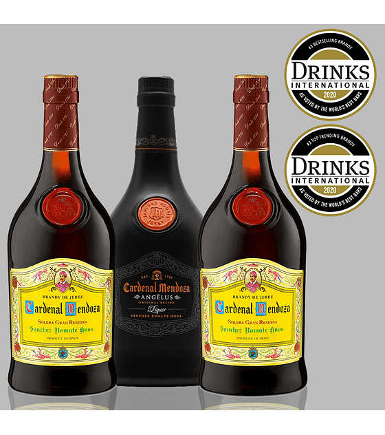 Pack Brandy & Angelus de Cardenal Mendoza