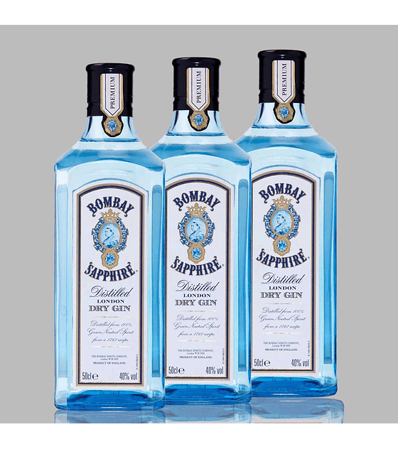 Pack 3 Gin Bombay con Copa