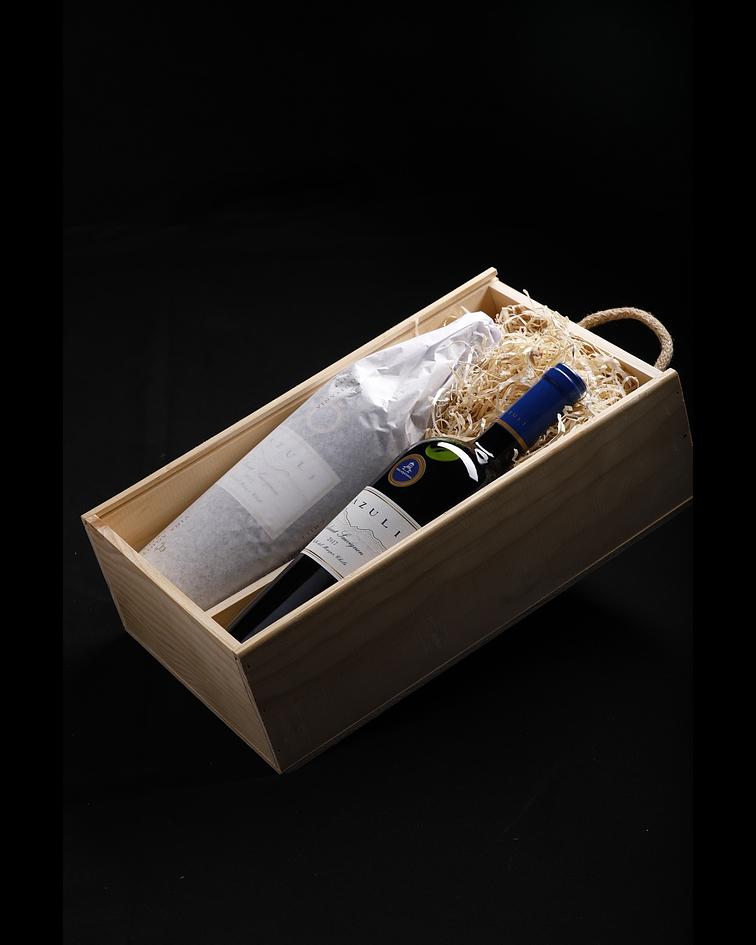 Caja Madera para 2 Botellas