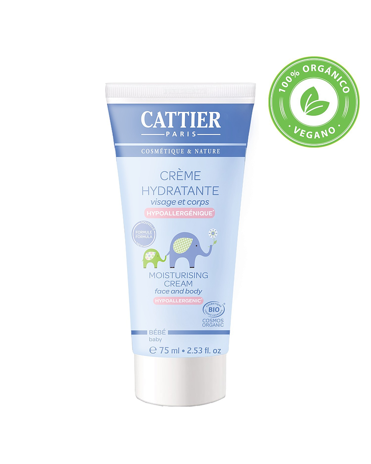 Cattier Crema Hidratante 75 ml