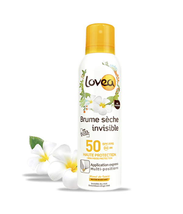 Lovea Protector Solar Bruma Invisible Factor 50