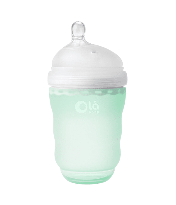Olababy Mamadera Silicona Gentle Bottle 240 ml Menta