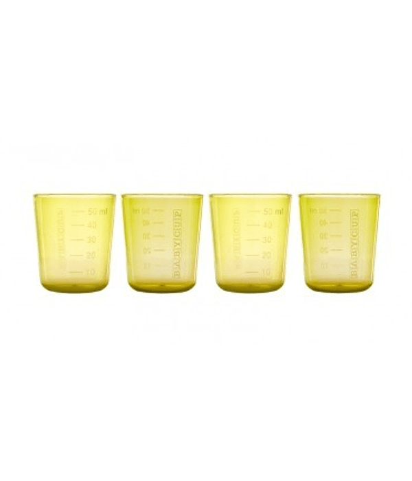 Babycup Mini Vaso Abierto Amarillo 50 ml